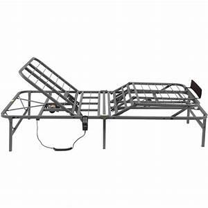 Pragmatic 14 U0026quot  High Profile Dual Adjustable Steel Bed Frame