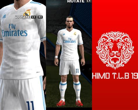 Kit real madrid pes 2018 ps3. Real Madrid Home Kit 2017-2018 - PES 2013 - PATCH PES | New Patch Pro Evolution Soccer