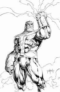 Thanos By Jason Metcalf JasonMetcalf Thanos Dione