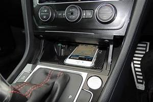 Handyhalterung Auto Wireless Charging : golf7 iphone dock ~ Kayakingforconservation.com Haus und Dekorationen