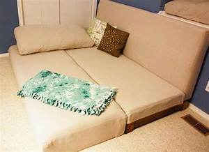 Couch convertible and beds on pinterest for Diy convertible sofa bed