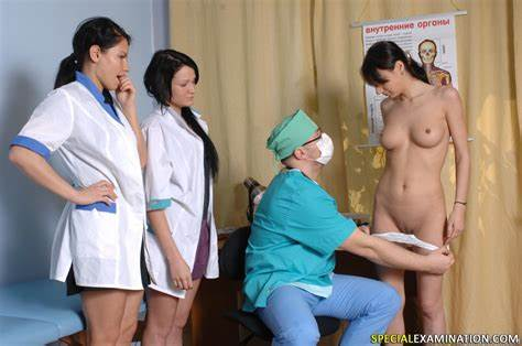 Classy Chick Cabinet Unexpected Medical Exam