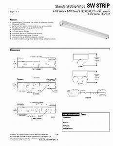 Standard Strip Wide Sw Strip Sw Strip Manuals