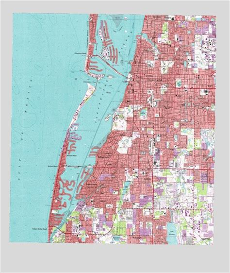 clearwater fl topographic map topoquest