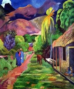 Popular Gauguin Tahiti Paintings-Buy Cheap Gauguin Tahiti