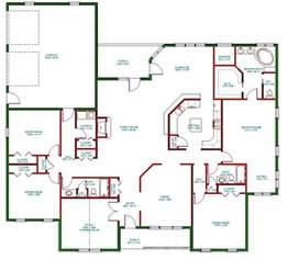 small one story house plans traditional ranch house plan single level one story ranch