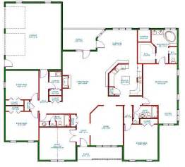 home floor planner traditional ranch house plan single level one story ranch