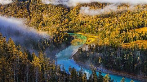 Kanas Lake Xinjiang China Travel Photo Hd Wallpaper 07