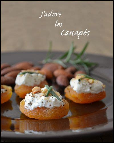 goats cheese canape recipes 25 best ideas about les canapés on petits