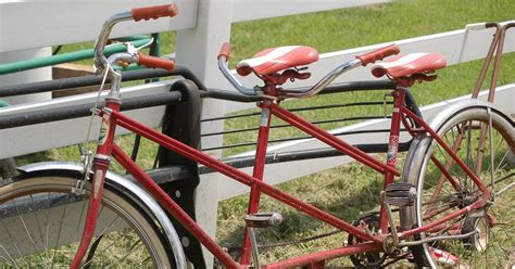Living The Good Life Vintage Bicycle Built For Two