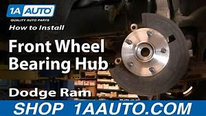 How To Replace Wheel Bearing  U0026 Hub Assembly 02