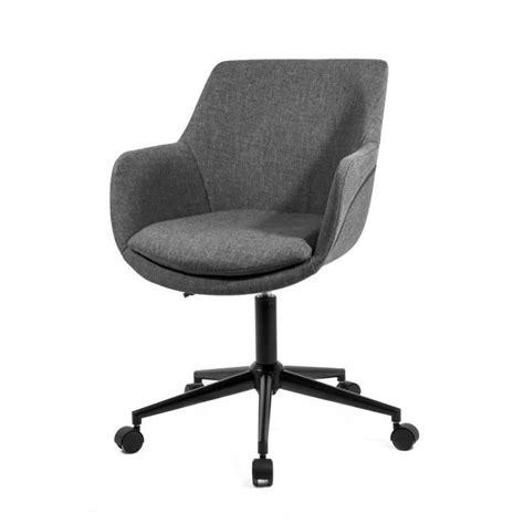 fauteuil de bureau gris skei fauteuil de bureau inclinable tissu gris