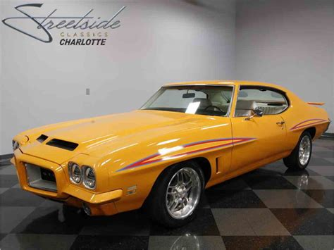 how to learn all about cars 1972 pontiac gto electronic valve timing 1972 pontiac gto for sale classiccars com cc 967992