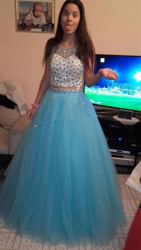 mint green  pieces quinceanera dresses beaded tulle