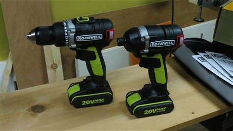 rockwell brushless drill  driver set youtube