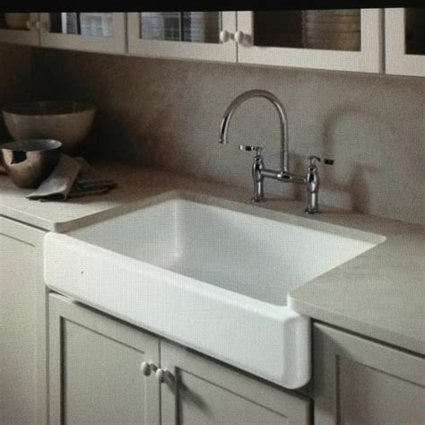 exposed kitchen sink farmhouse sink exposed apron nest 3629