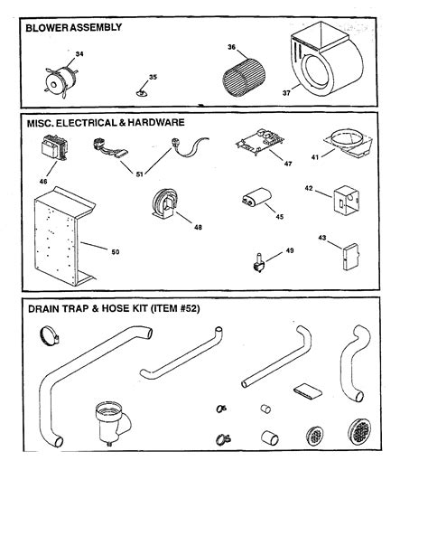 goodman gas furnace parts model gmp  sears partsdirect