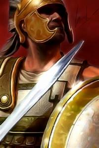 Gallery For > Ancient Greek Warrior Wallpaper