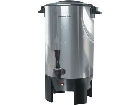 69 list price 59 99 59. Continental Electric PS77931 Stainless steel Professional Series 30-Cup Coffee Urn - Newegg.com