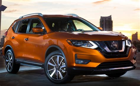 nissans updated  rogue compact suv starts