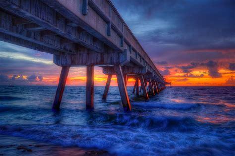fishing pier deerfield beach international sunrise piers saltwater broward county florida fishable