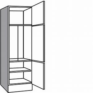 Hochschrank kuche kuhlschrank rheumricom for Einbauschrank für kühlschrank