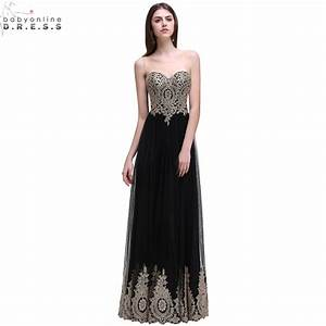robe de soiree longue sexy backless beaded lace black long With robe de soirée longue 2017