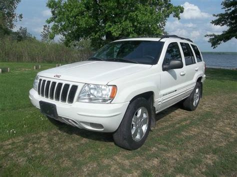 jeep cherokee sunroof purchase used 2001 jeep grand cherokee limited 4 0l 4x4