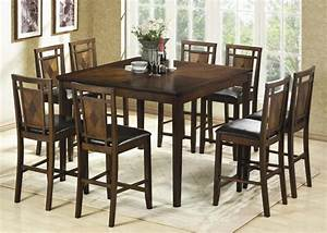 Tall dining room tables for Tall dining room tables