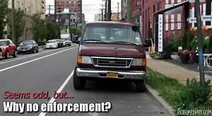 Letter: Forgotten Street in Hoboken {for parking enforcement}
