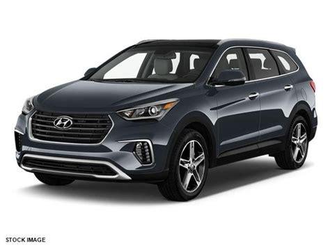 2018 Hyundai Santa Fe Se Ultimate Awd Se Ultimate 4dr Suv