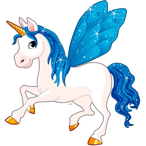 sticker licorne feerique stickers bebes fille ambiance