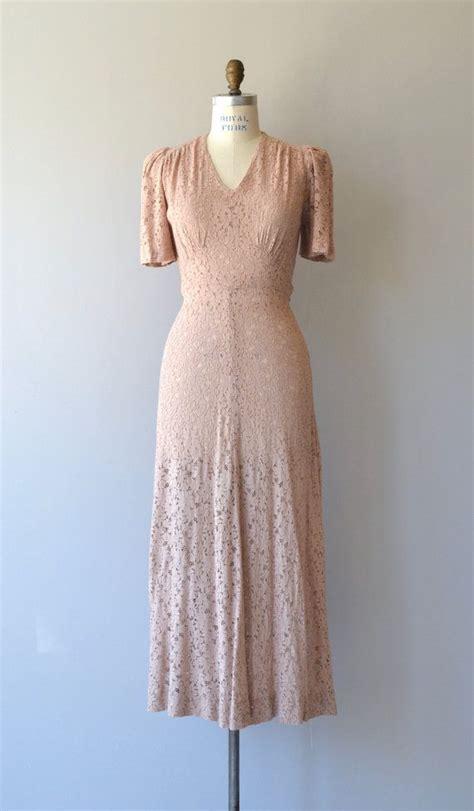 vintage kleider 30er coeur kleid 1930er jahre vintage kleid lange