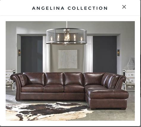 Rustic Sectional Sofa lazzaro leather rustic sauvage two