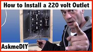 220 Outlet Wiring Diagram