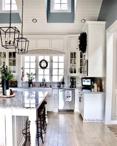 dream   high ceiling kitchen