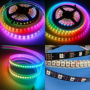 Ws2812b 5050 Rgb Led Strip 5m 150 300 Leds 144 60led  M