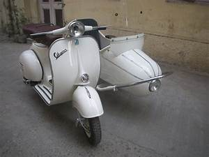 Vespa Scooter With Side Car  Px 150cc New Engine 1964 Free
