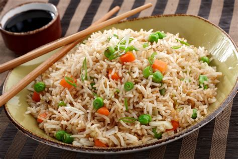 rice cuisine fried rice is a popular meal originating from china