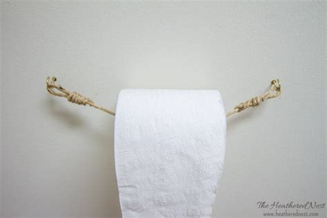 Diy And Inexpensive Toilet Paper Holder Ideas