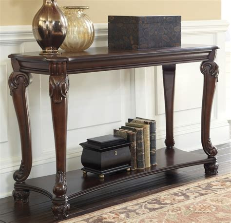 ashley norcastle sofa table furniture definition pictures