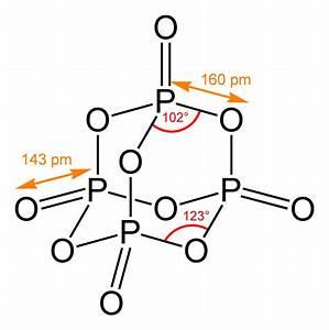 File Phosphorus-pentoxide-2d-dimensions Png