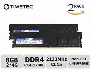 Timetec Hynix Ic 8gb Kit  2x4gb  Ddr4 2133mhz Pc4