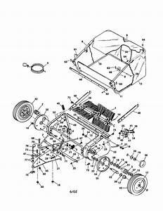 Lawn Sweeper 38ls Diagram