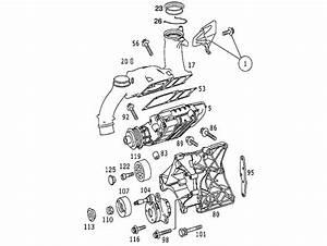 01 02 03 04 05 Mercedes C230 Slk230 Kompressor Belt Pulley