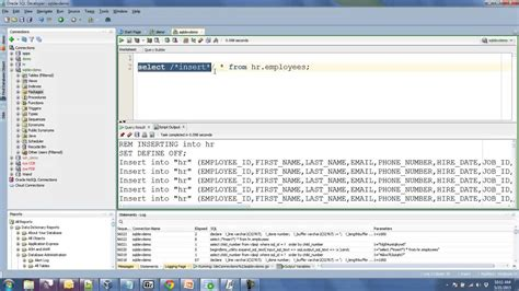formatting  oracle query results   csv youtube