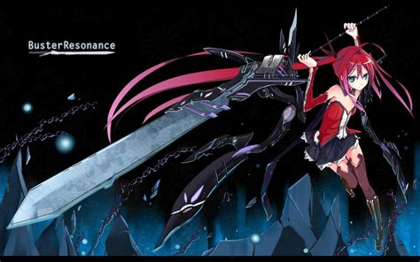 Anime Wallpaper Konachan - anime chain whip sword weapon wielding wallpaper