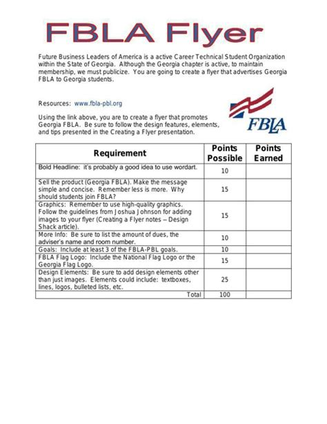 fbla cover letter fbla fbla flyer and cover by nbeebe1 flipsnack