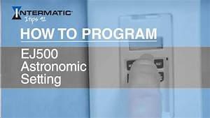 How To Program The Ej500 Astronomic Setting