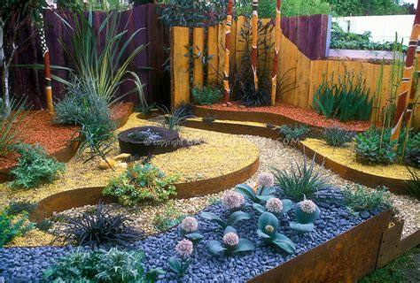 Dry Gardening With An Australian Theme